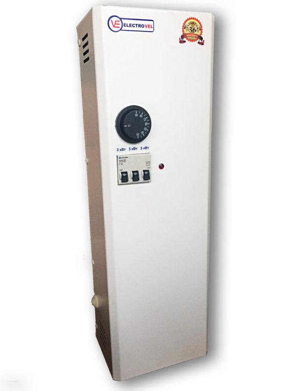 Электрокотел ElectroVel ЭВМП - 4.5 нижний вход (клавиши)